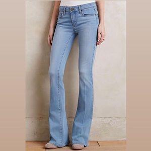 NWT Paige Blue Lou Lou Flare Petite Abel Jeans